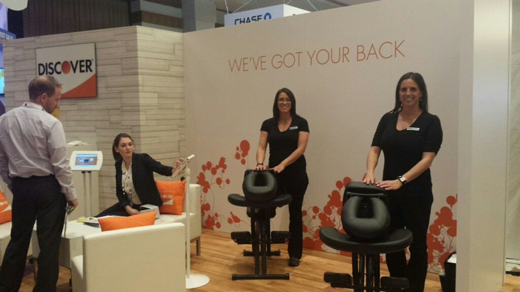 chair massage las vegas at MRC 2015