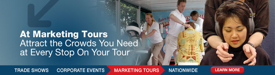 At Marketing Tours - Attract the Crowds You Need at Every Stop On Your Tour