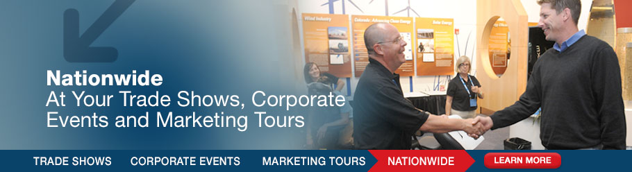 Nationwide - At Your Trade Shows, Corporate Events and Marketing Tours